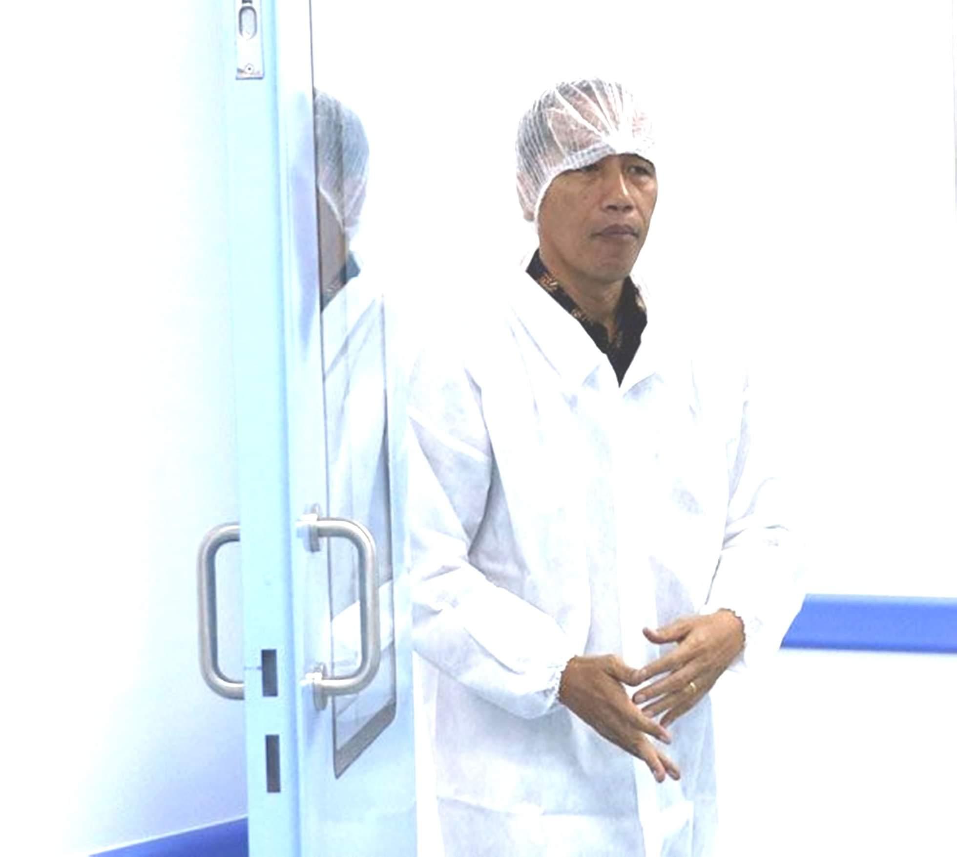 Presiden jokowi industri farmasi